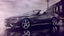 2013 Mercedes SL-class leaked brochure scan