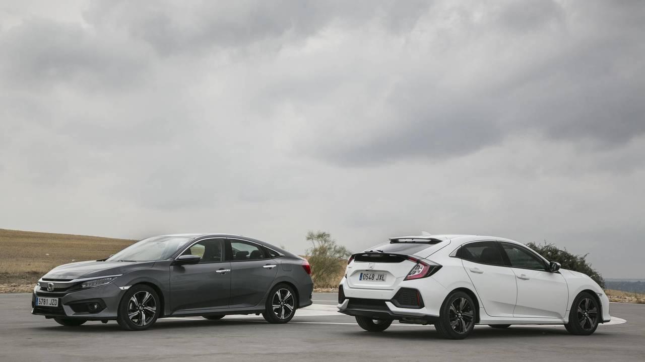 Prueba Honda Civic 5 Puertas y Sedan