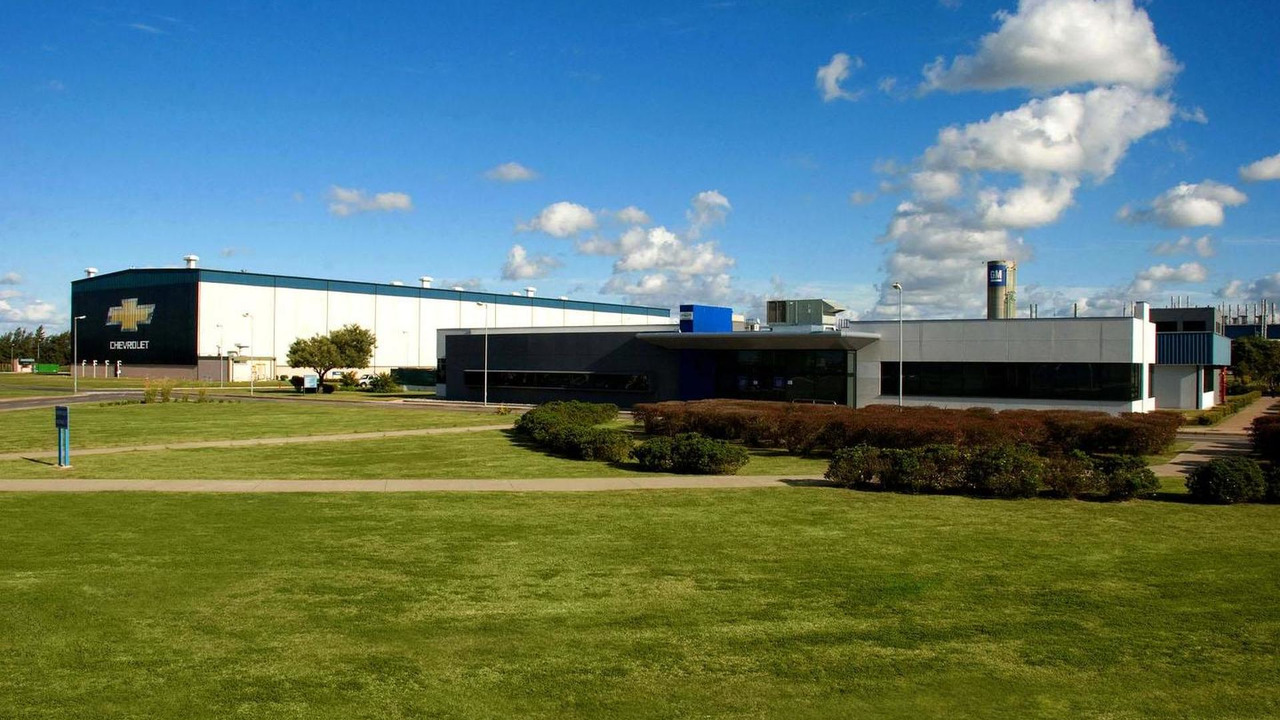 GM Rosario Automotive Complex in Argentina 29.10.2012