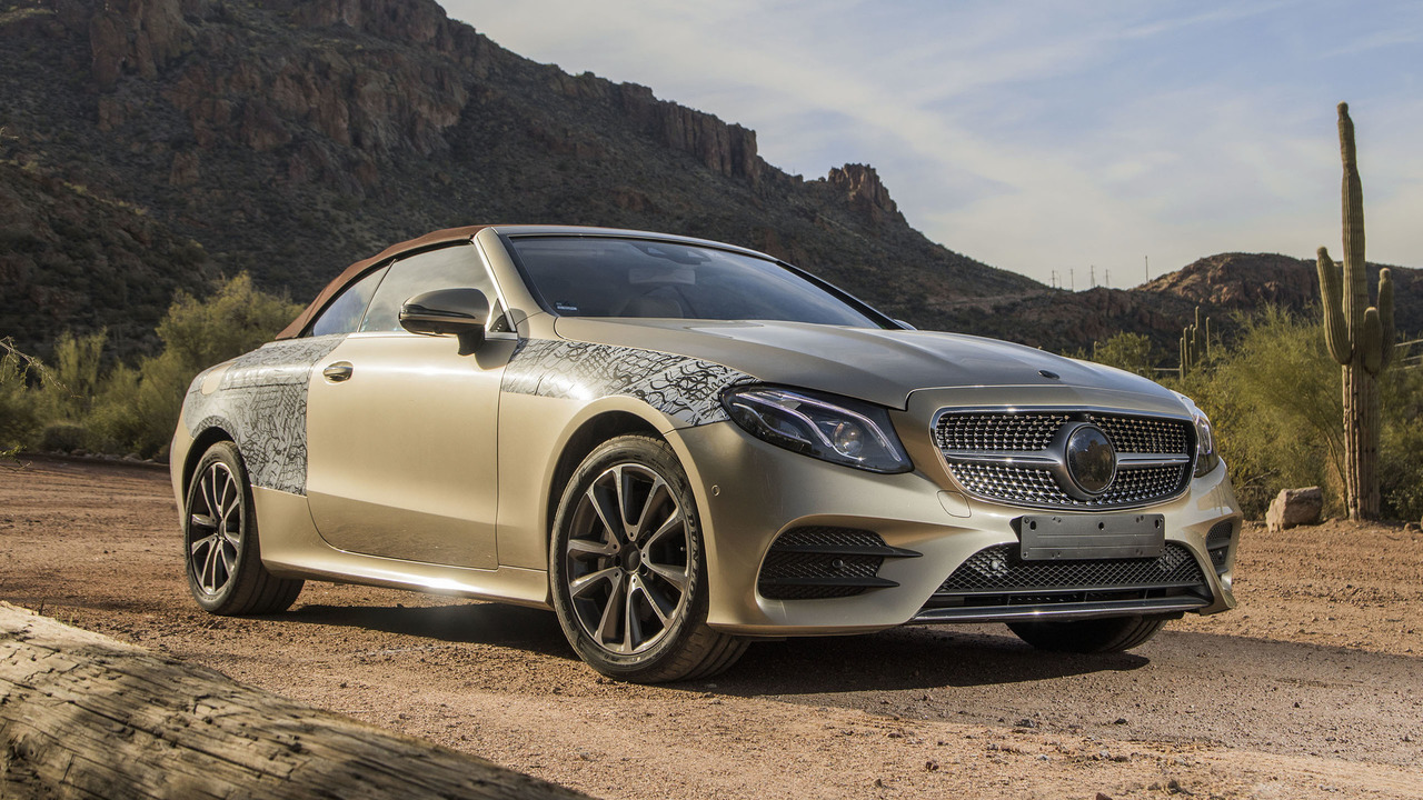 2018 mercedes e class cabriolet first ride making of a for Mercedes benz e class cabriolet for sale