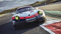 Porsche dévoile la nouvelle 911 RSR 2017