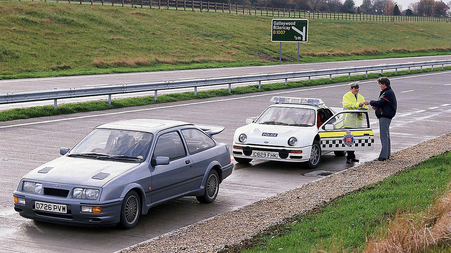 1986 - Ford RS200 de la Police britannique