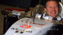 Zak Brown in classic McLaren