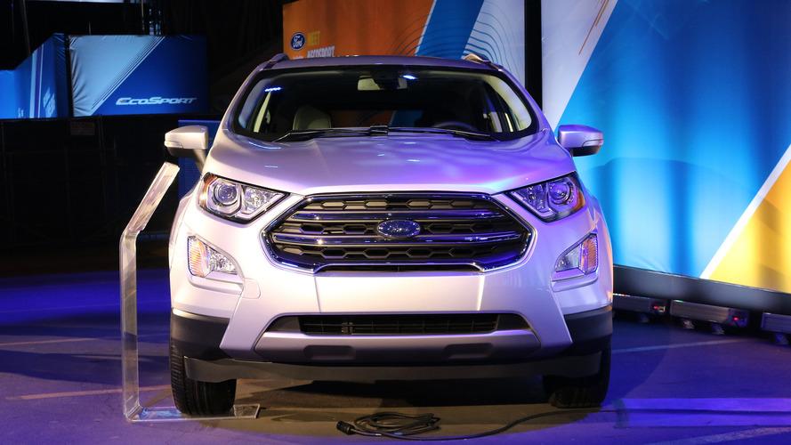 Ford EcoSport live photos