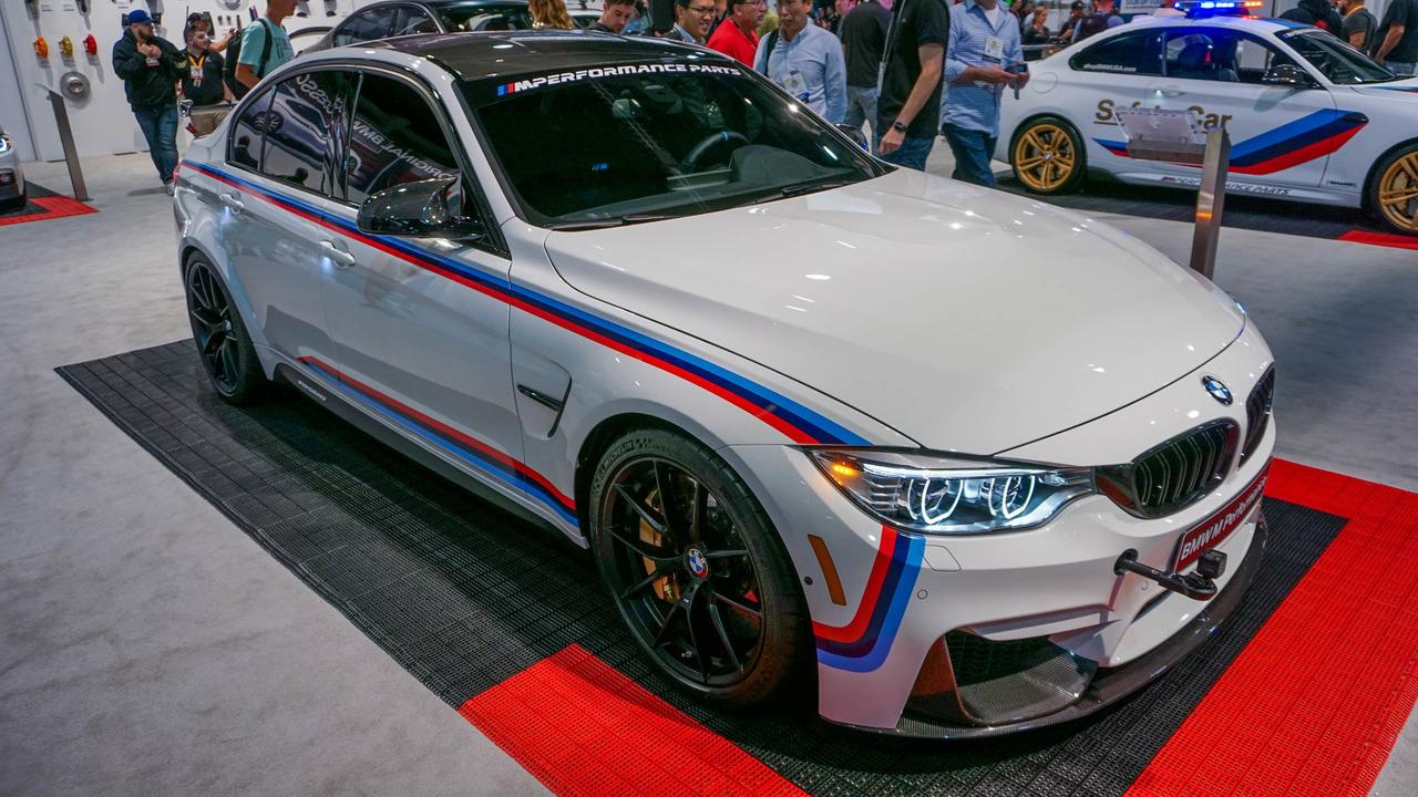 SEMA 2016 - BMW M3 with BMW Performance Parts