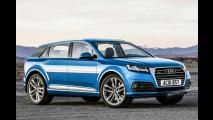 Audi Q1 chega em 2016 e antecipa três novos SUVs do Grupo VW