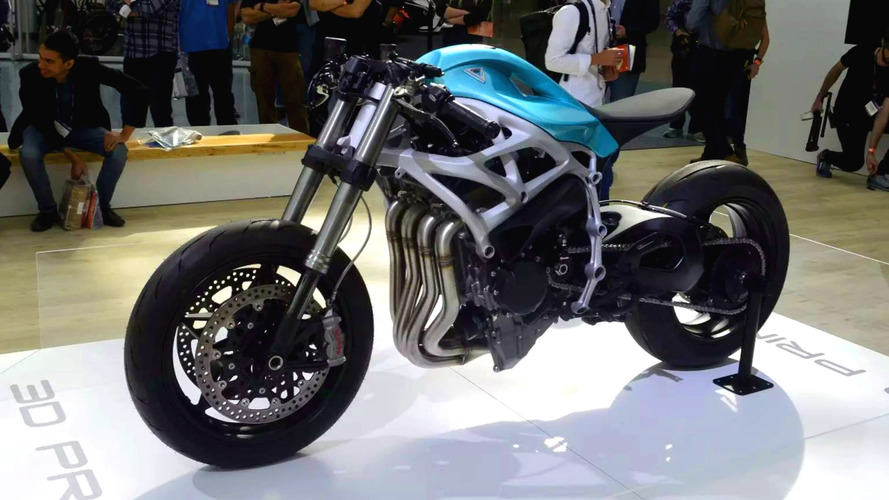 Divergent Dagger is 3D-printed, Kawasaki H2-based concept bike