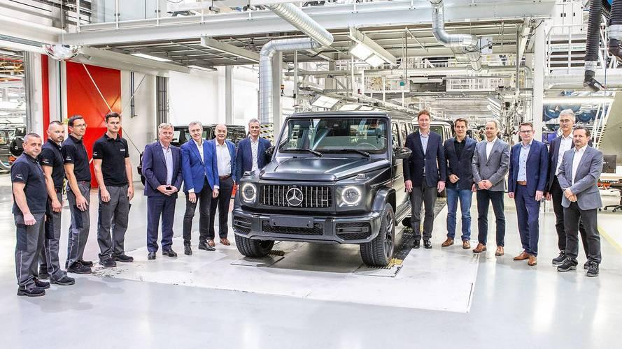 Mercedes-Benz Classe G de nova geração começa a ser produzido na Áustria