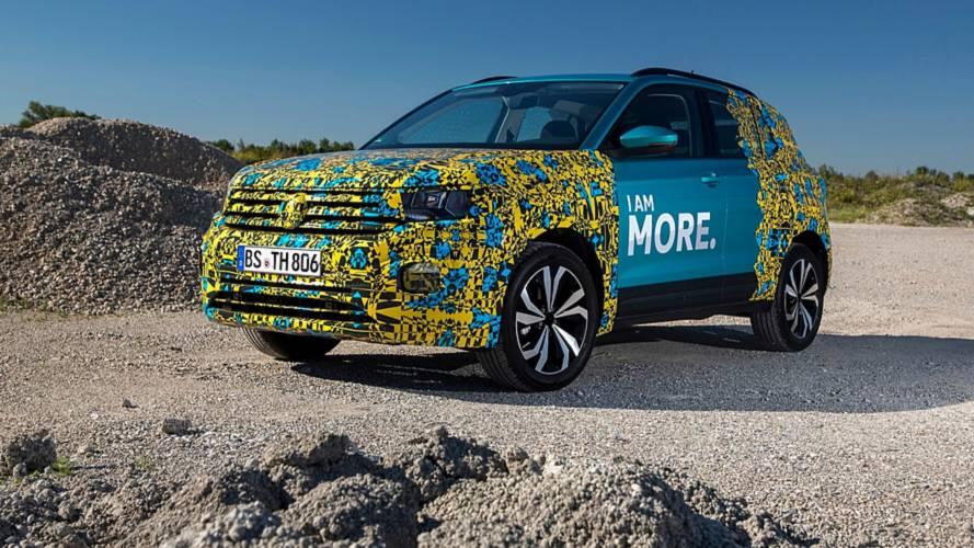 Kizárólag elsőkerék-hajtással lesz kapható a Volkswagen T-Cross