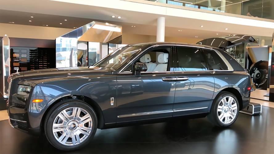 Rolls-Royce Cullinan'ı yakından inceleyin