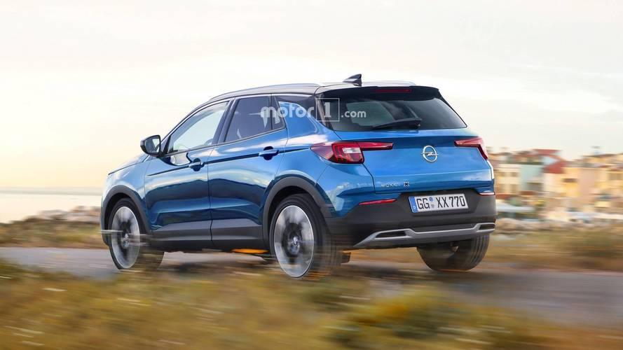 Imaginamos los futuros Opel ADAM X, Mokka X y  Monza X (con renders)