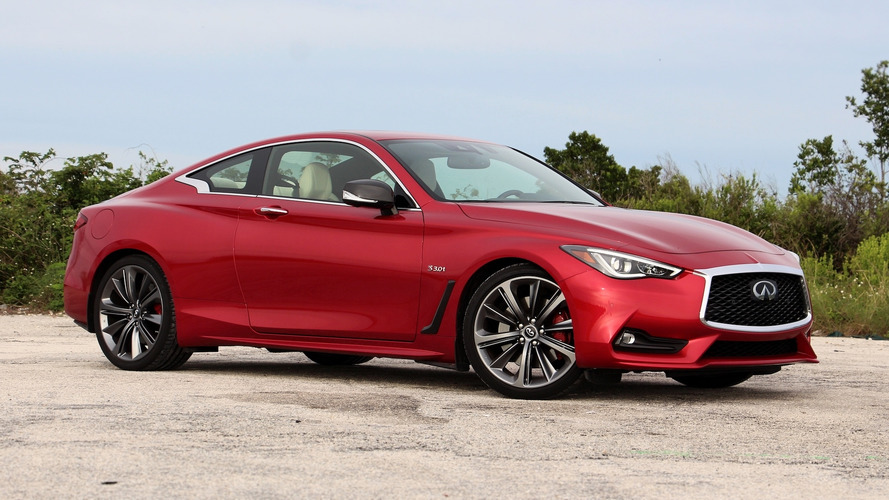 2018 Infiniti Q60 Red Sport 400 Review: Skin Deep