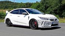 Honda Civic Type R Facelift Spy Photos