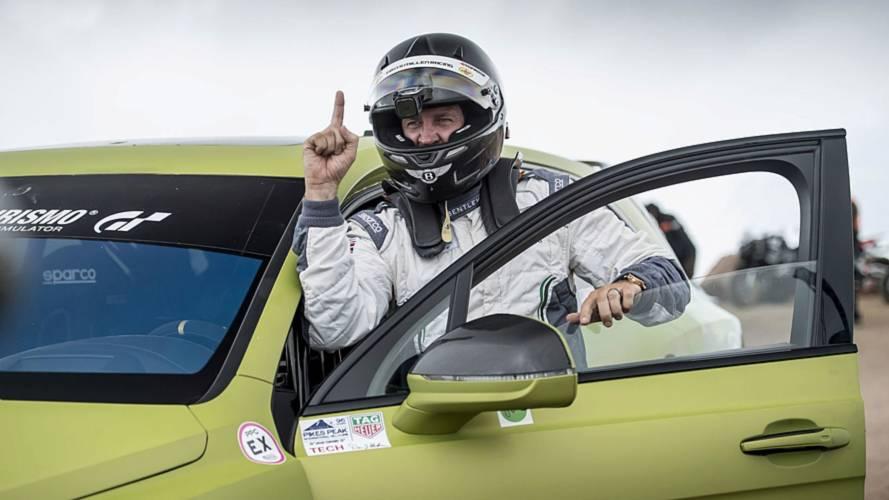 Bentley Bentayga SUV rekord - Pikes Peak