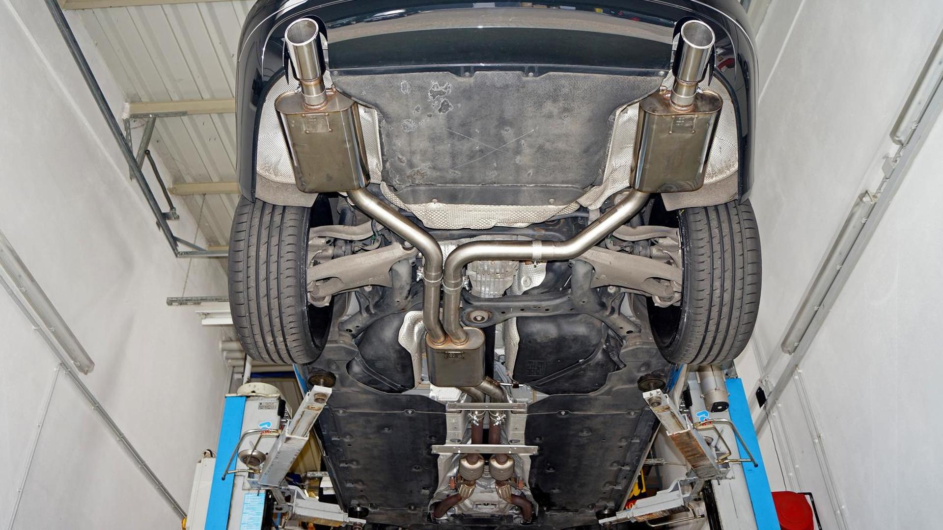 Днище Audi A8 4.2 V8
