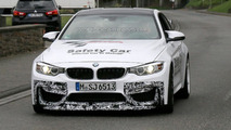BMW M4 GTS spy photo