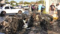 Lamborghini Gallardo burns to a crisp in Florida after engine failure
