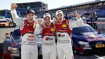 Audi at the 2014 DTM finale
