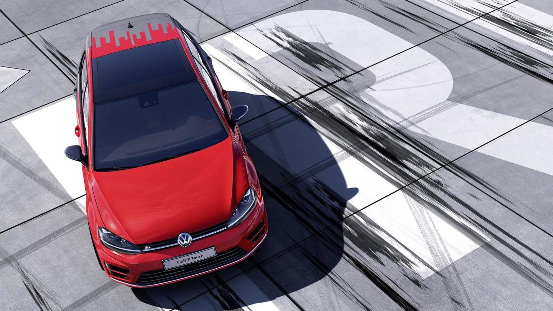 Концепт Volkswagen Golf R Touch 2015 года