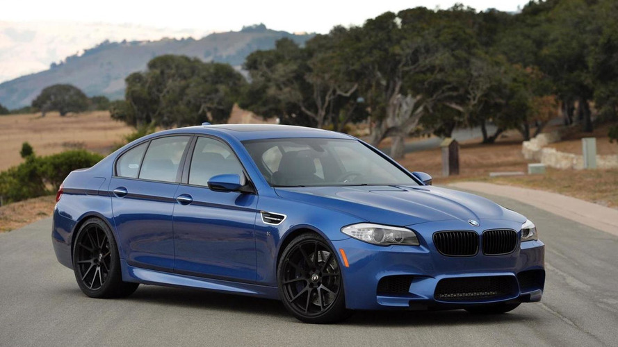BMW M5 pumped up to 675 bhp by Dinan