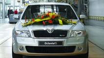 500,000th Skoda Octavia Produced