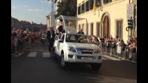 Papa Francesco, tutte le papamobili