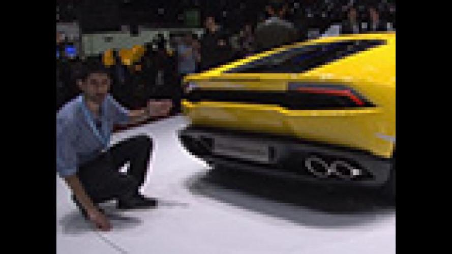Lamborghini Huracán, la sportiva più gialla di Ginevra