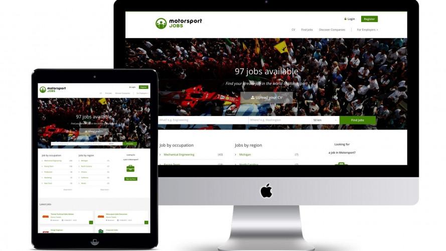 Motorsportjobs, arriva il sito per trovare lavoro nel motorsport
