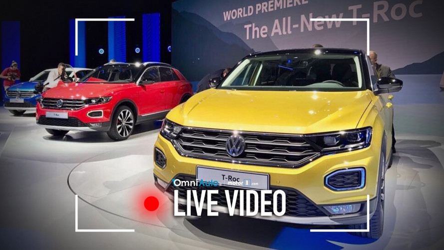 Volkswagen T-Roc, vista dal vivo [VIDEO]