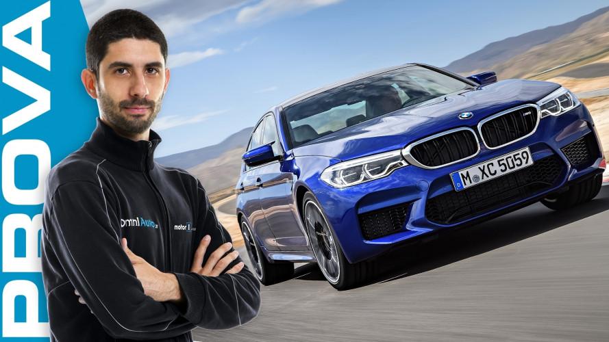 Nuova BMW M5, per divertirsi alla grande