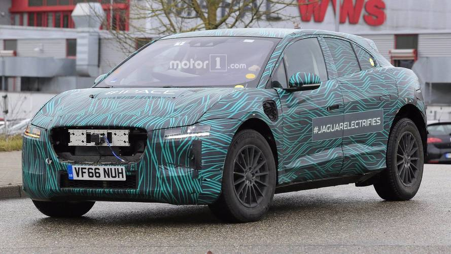 Jaguar I-Pace caught up close in new spy shots