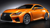 Lexus RC F renk yarışması bitti