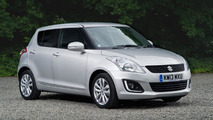 2013 Suzuki Swift facelift revealed
