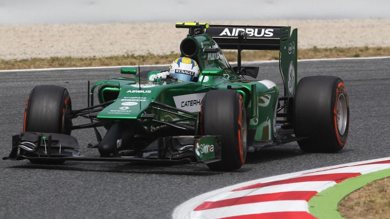 Marcus Ericsson (SWE), Caterham CT05, 10.05.2014, Spanish Grand Prix, Barcelona, Qualifying Day / XPB