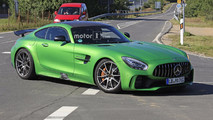 Mercedes-AMG GT4 road car spy photos