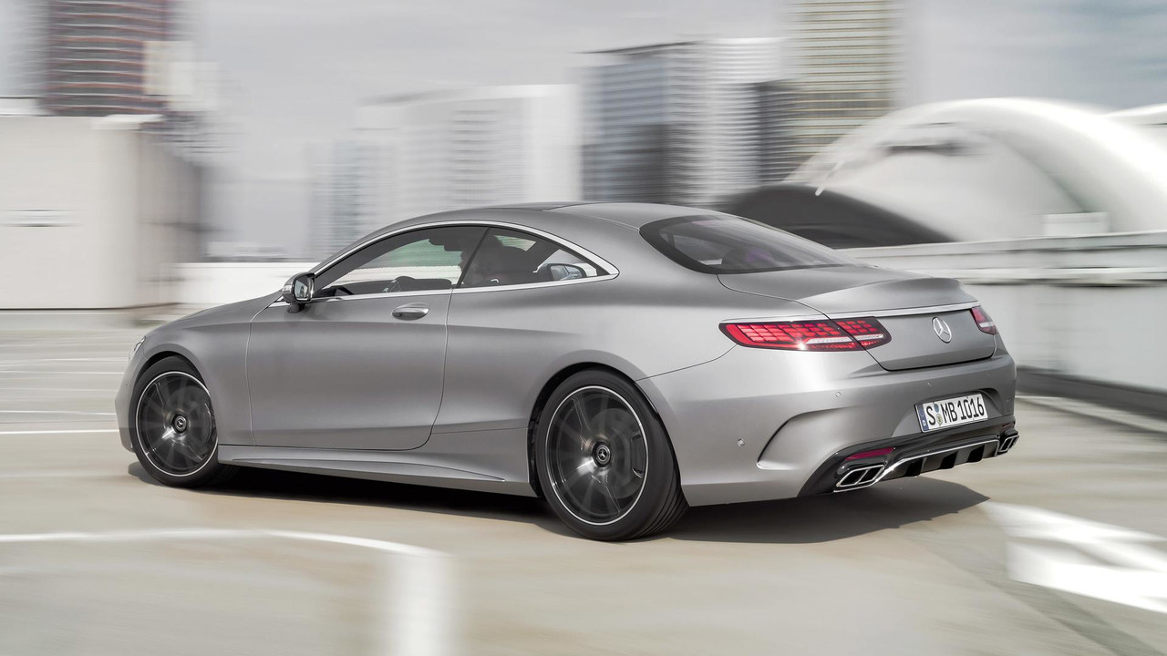 mercedes benz s class coupe reveals its frankfurt facelift. Black Bedroom Furniture Sets. Home Design Ideas