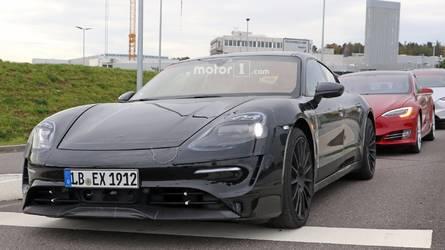 Már közutakon is felbukkant a teljesen elektromos Porsche Mission E