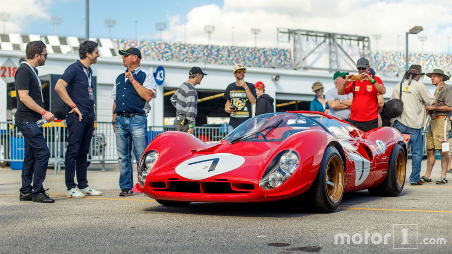 Ferrari 330 P4, una belleza clásica de los circuitos