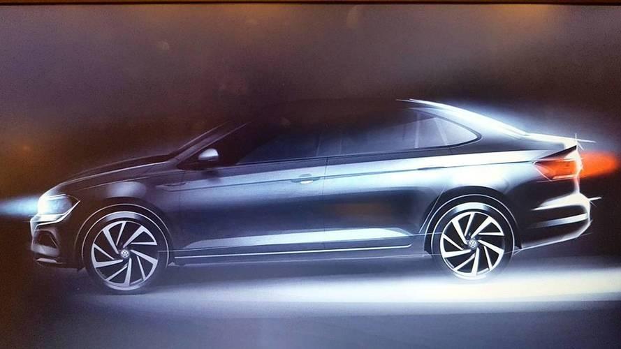 Yeni Polo'yu temel alan sedan Virtus Ocak 2018'de geliyor