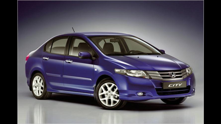 Honda stellt neue Kleinwagen-Limousine City vor