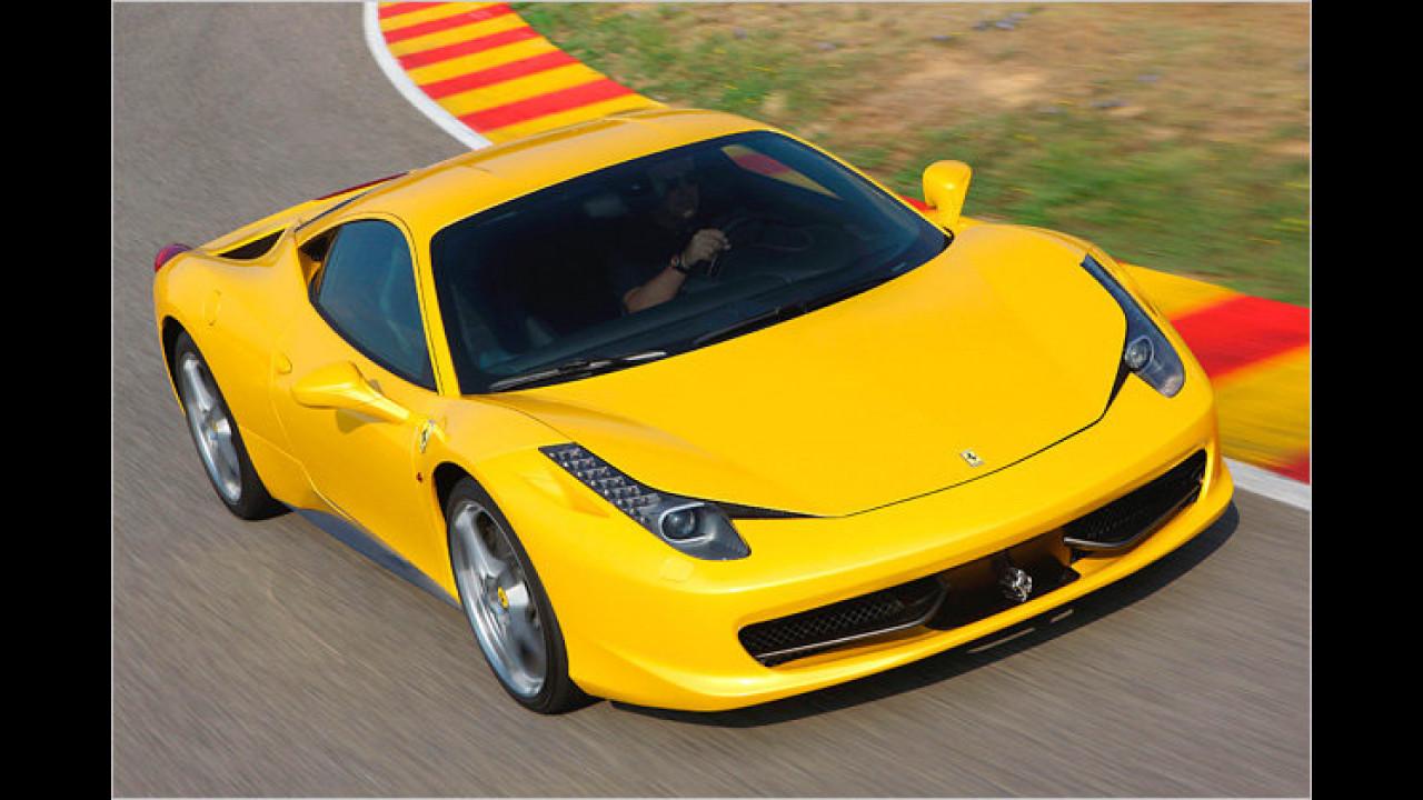 Bester Motor über vier Liter Hubraum: Ferrari 4,5-Liter-V8