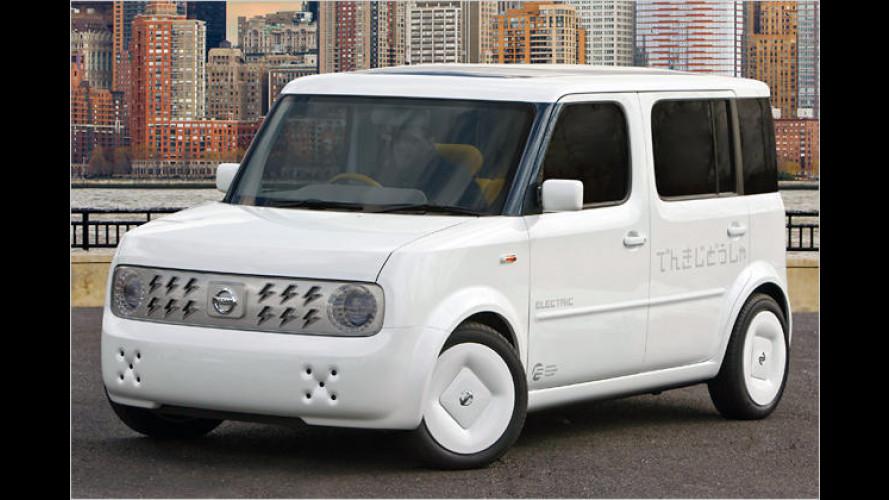 Studie Nissan Denki Cube: Strom-Würfel für Amerika