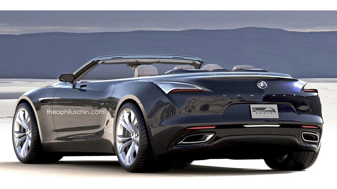 Buick Avista convertible rendering
