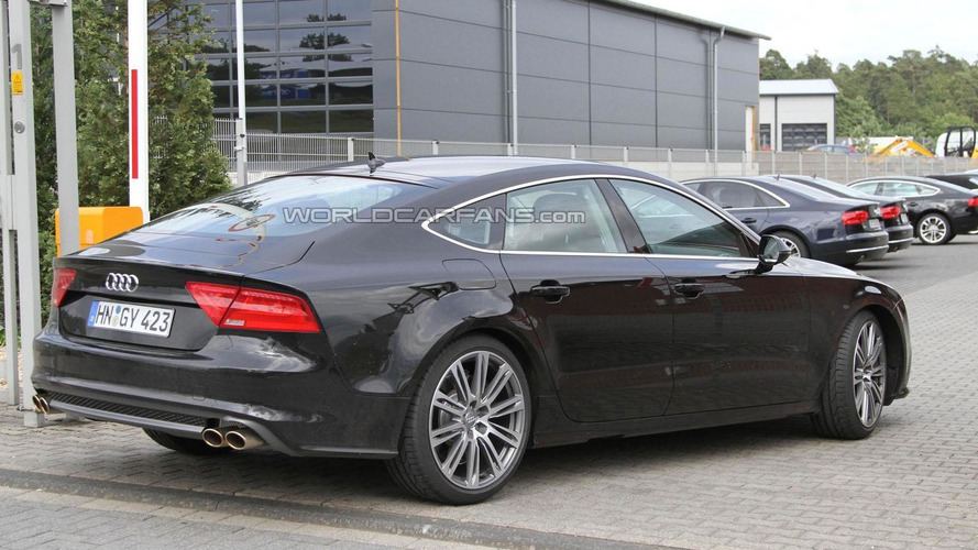 2012 Audi S7 spied undisguised