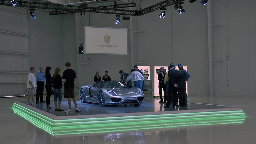 Porsche 918 Spyder production details surface from private Pebble Beach event