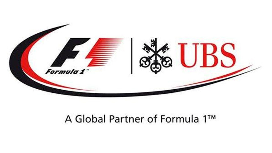 F1 inks sponsor deal with Swiss bank UBS