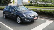 Opel Astra 5-door post reveal prototype on the street