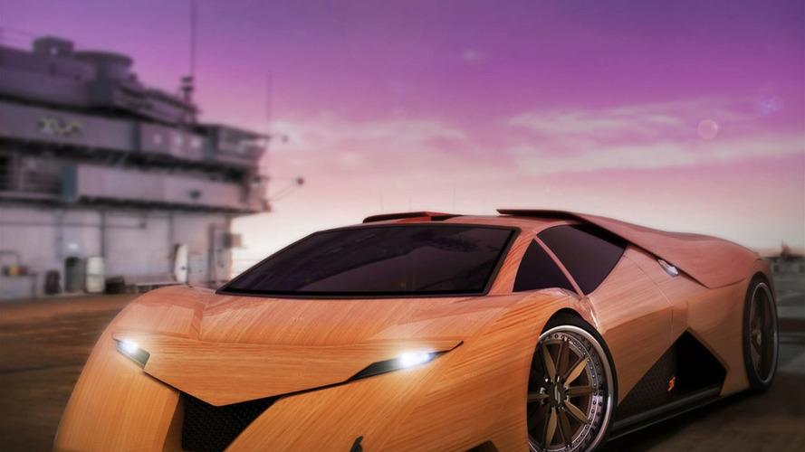 Wooden Splinter Supercar - New Photos Updated