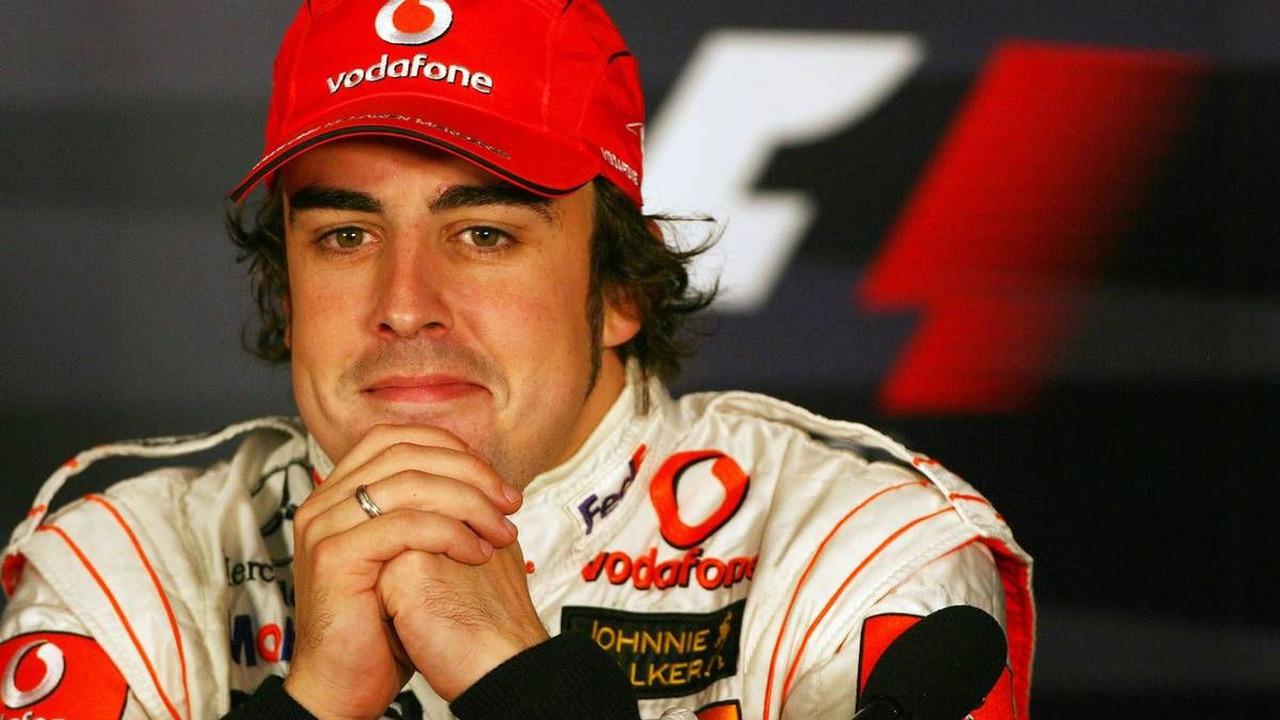 Fernando Alonso (ESP), McLaren Mercedes, Brazilian Grand Prix, Sao Paulo, Brazil 21.10.2007