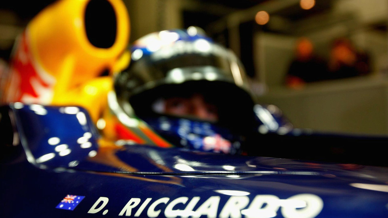 Daniel Ricciardo (AUS), Tests for Red Bull Racing, 03.12.2009 Jerez, Spain,